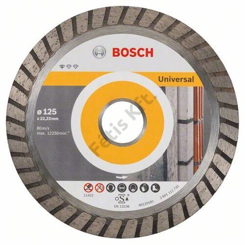 Bosch vágókorong gyémánt 125 x 22.23mm