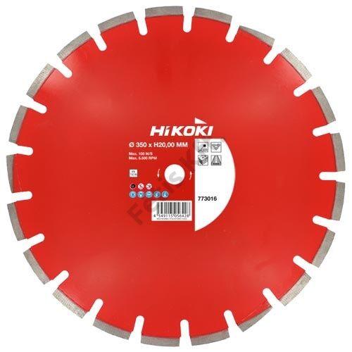 Hitachi-Hikoki gyémánt vágókorong 350x20mm aszfalt