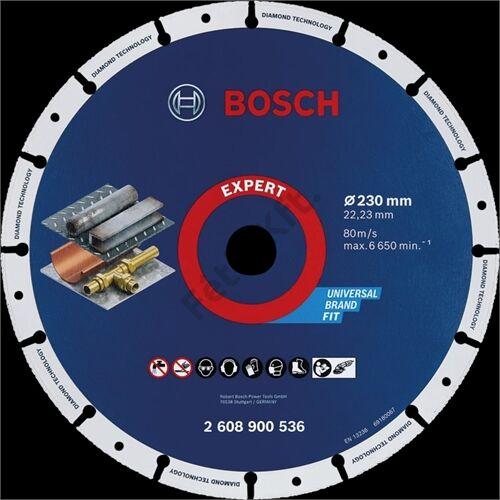 Bosch vágókorong, gyémánt 230 fém