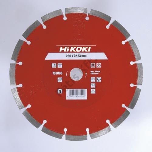 Hitachi-Hikoki gyémánt vágókorong 125x22.2x10mm
