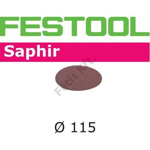 Festool csiszolópapír Saphir STF D115/0 P80 SA/25 (25db/csomag)