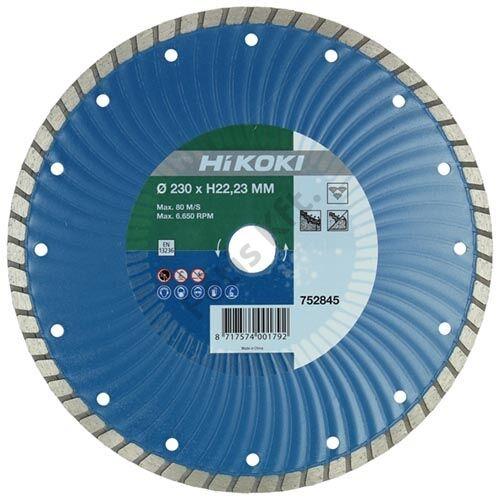 Hitachi-Hikoki gyémánt vágókorong 180x22.2x6mm