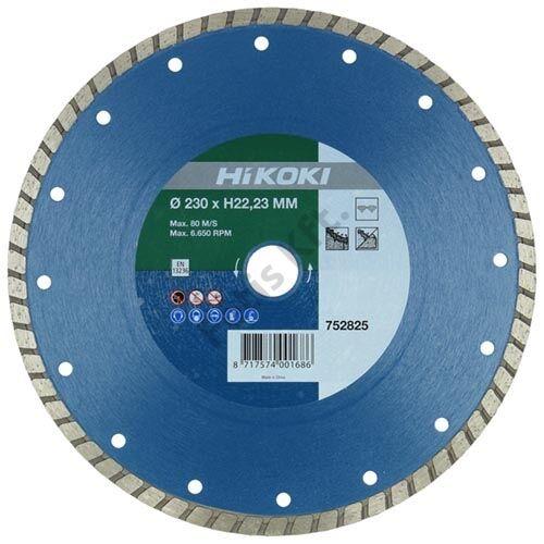 Hitachi-Hikoki gyémánt vágókorong 230x22.2x6mm