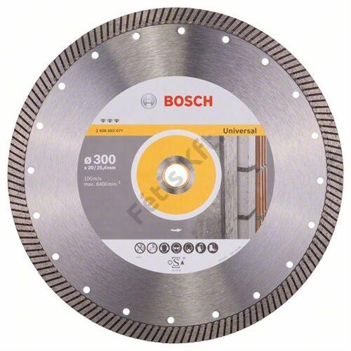 Bosch vágókorong gyémánt 300-20/25.4mm UNIVERSAL gyemant