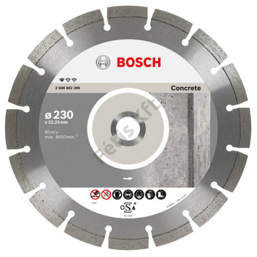 Bosch vágókorong, gyémánt115 BPE