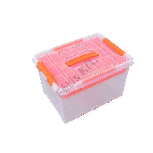 Tactix átlátszó tároló doboz 22 liter