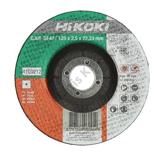 Hitachi-Hikoki vágókorong kőhöz 125x2.5x22.2mm