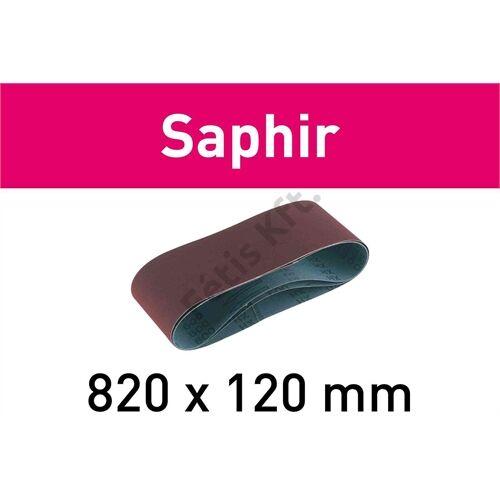 Festool csiszolószalag Saphir 820x120 P50 SA (10db/csomag)