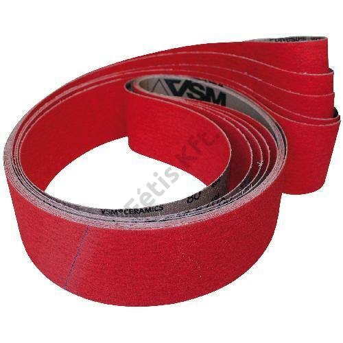 VSM csiszolóvászon szalag kerámia szemcsével 13x457mm K120