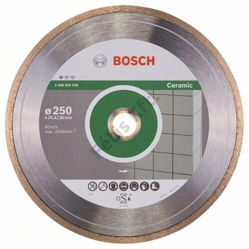 Bosch vágókorong, gyémánt 250-30x25.4