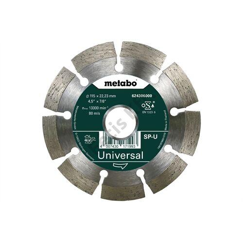 Metabo gyémánt vágókorong 115x22.23mm SP-U
