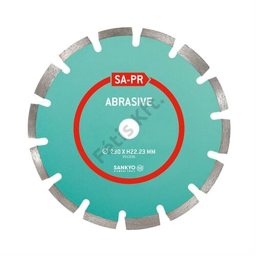 Sankyo gyémánttárcsa 400x25.4mm ASZFALT