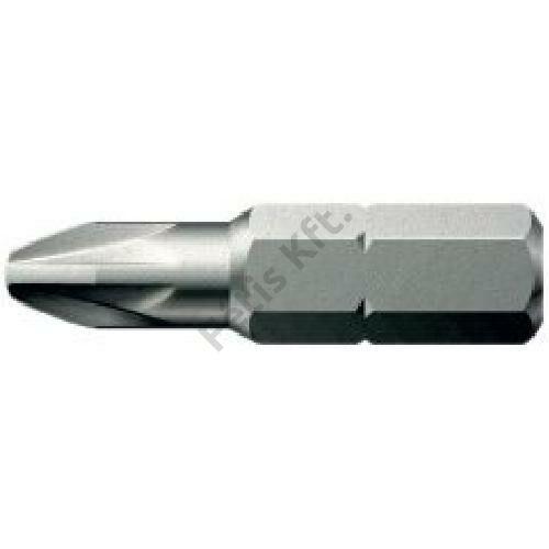 Format bit kereszthornyos csavarokhoz 1/4'' PZ2 25mm