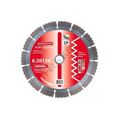 Metabo gyémánt vágókorong 230x2.5x22.23mm, professional, CP, Beton  2 db