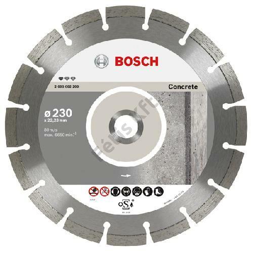Bosch vágókorong, gyémánt  125 BPE