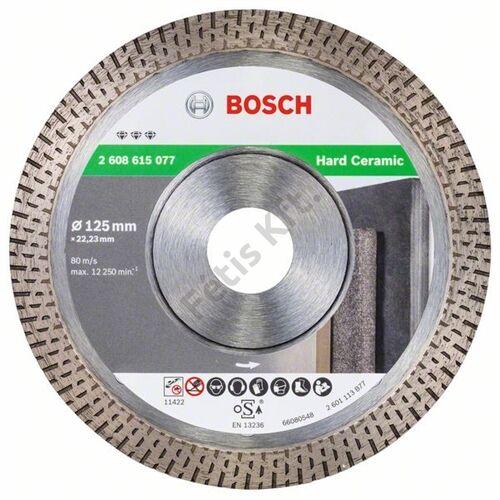 Bosch vágókorong, gyémánt 125mm csempe