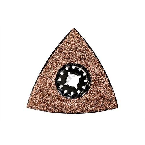 Metabo háromszög csiszolótalp, fuga/simítómassza, HM, 78 mm