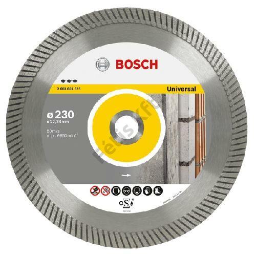 Bosch vágókorong, gyémánt 230mm universal+metal UPP