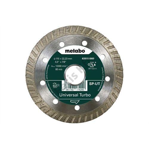 Metabo gyémánt vágókorong 115x22.23mm SP - UT
