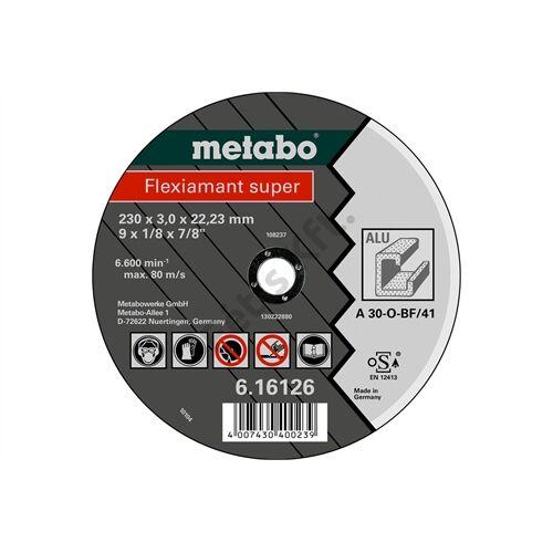Metabo vágókorong Flexiamant super 180x3.0x22.23 alumínium, TF 41