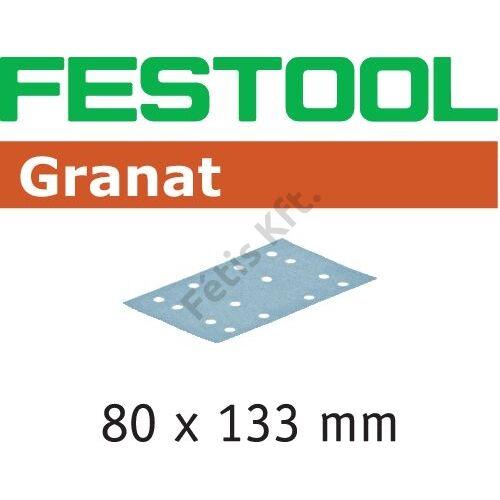 Festool csiszolócsíkok Granat STF 80x133 P220 GR/100 (100db/csomag)