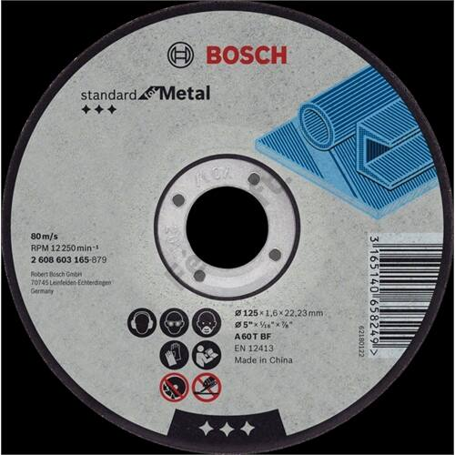 Bosch vagókorong fémhez 230x3.0 A 30 S BF hajlított