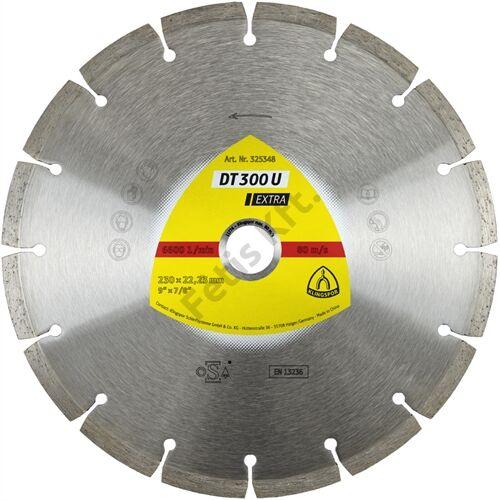 Klingspor gyémánt vágókorong 125x1.6x22.23mm P DT 300 U S=Standard