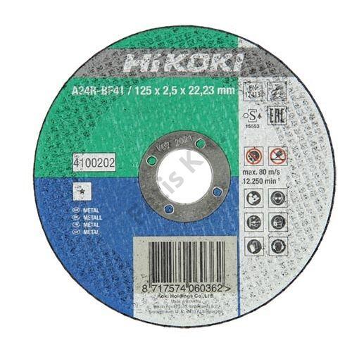 Hitachi-Hikoki vágókorong fémhez 125x2.5x22.23mm