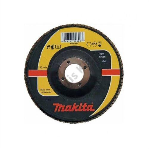 Makita Lamellás csiszoló INOX 115mm K60