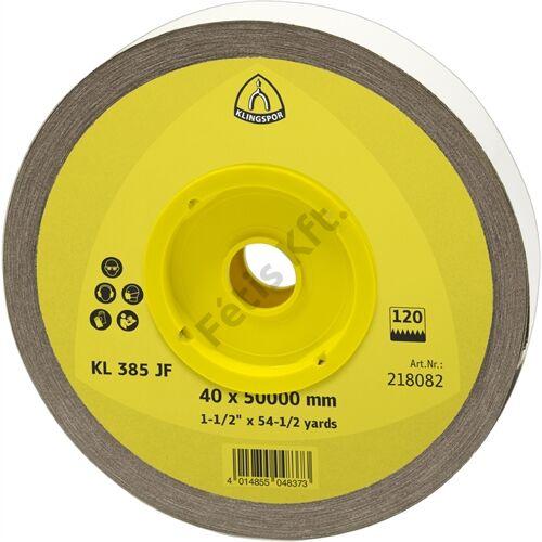 Klingspor tekercs 115x5000mm P 80 KL 385 JF S MINI