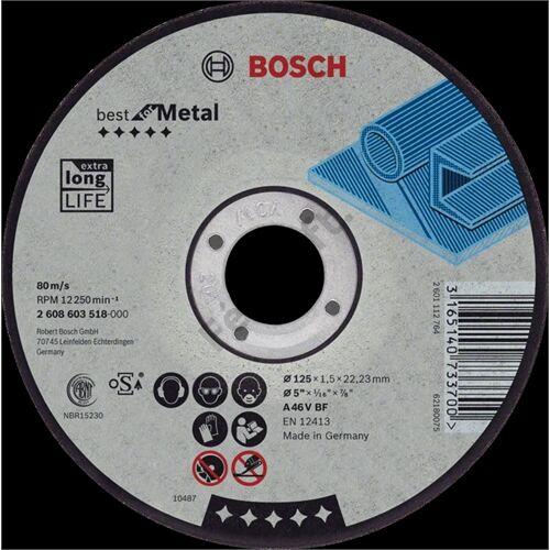 Bosch vágókorong 230x1.9mm fém egyenes