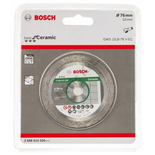 Bosch vágókorong, gyémánt 76x1.9mm Best for Ceramic