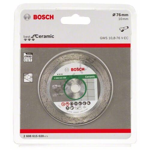 Bosch vágókorong, gyémánt 76x1.9mm Best for Ceramic