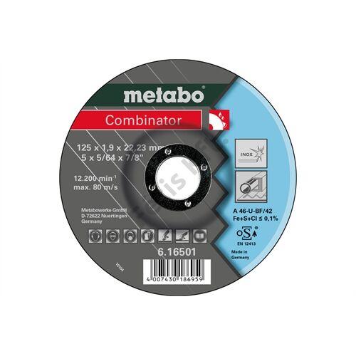 Metabo csiszolókorong Combinator 125x1.9x22.23 Inox, TF 42