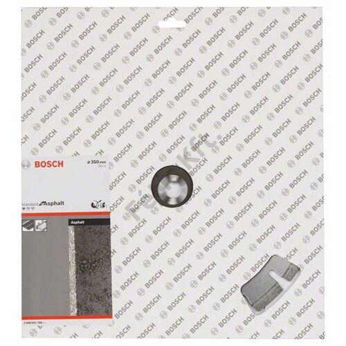Bosch gyémánt vágókorong 350x3.2x20 aszfalt