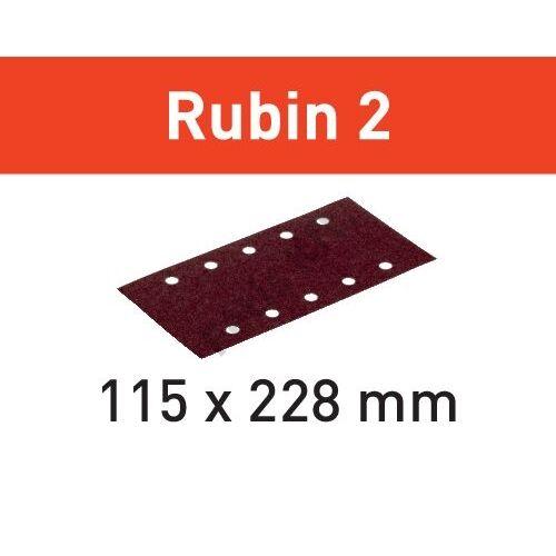 Festool csiszolócsíkok Rubin2 STF 115X228 P60 RU2/50 (50db/karton)