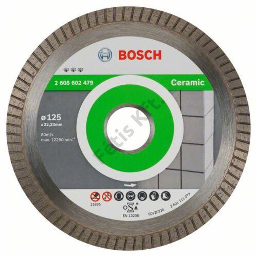 Bosch vágókorong, gyémánt 125x22.23