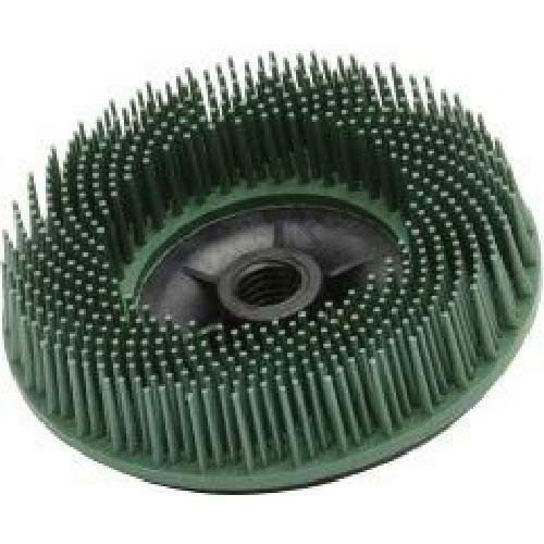 3M bristle Disc 115 mm, P 50, zöld M14 menettel