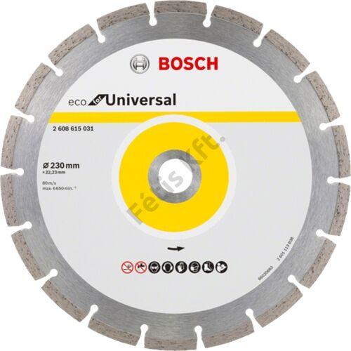 Bosch vágókorong, gyémánt 125 ECOforUniversal