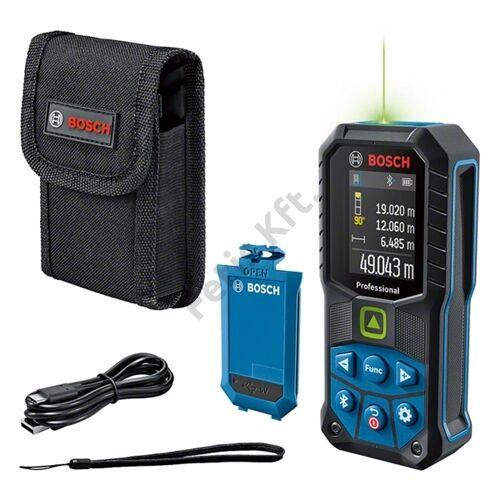 Bosch GLM 50-27 CG lézeres távolságmérő (zöld) +Li-ion adapter