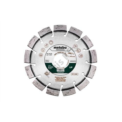Metabo gyémánt vágókorong 115x22.23mm UP