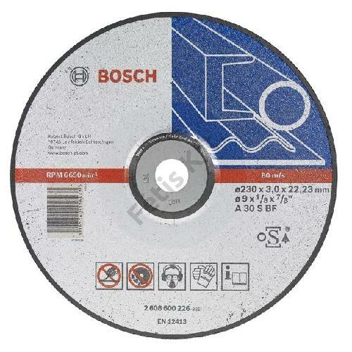 Bosch vágókorong 125x2.5mm fém hajlított