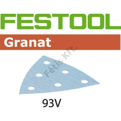 Festool csiszolópapír Granat STF V93/6 P120 GR/100 delta (100db/csomag)