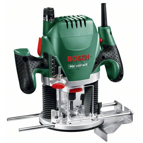 Bosch POF 1400 ACE felsőmaró 6 részes marókészlettel