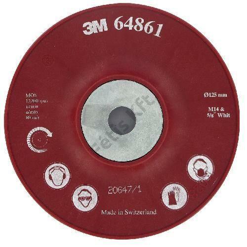 3M támasztótányér Cubitron bordázott M14 125mm