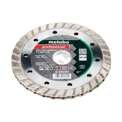 Metabo gyémánt marótárcsa 125x6x22.23 mm, professional, UP-TP