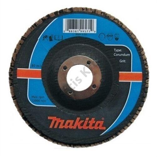Makita Lamellás csiszoló ACÉL 125mm K40