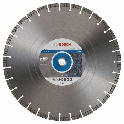 Bosch vágókorong, gyémánt 450x25.4mm kő
