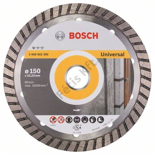 Bosch vágókorong, gyémánt 150x22.23