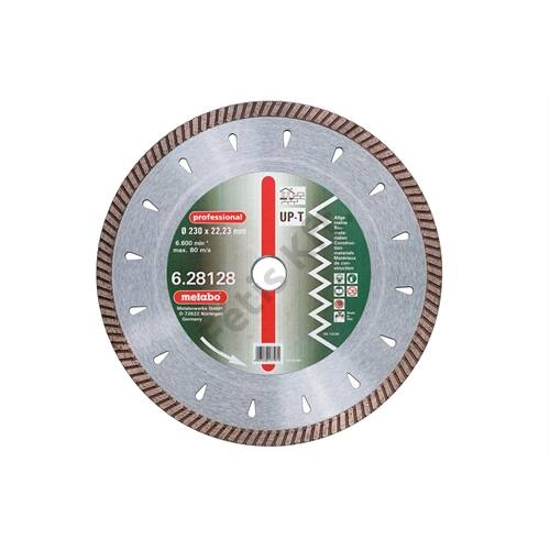 Metabo gyémánt vágókorong 125x2.2x22.23mm, professional, UP-T, Turbo, univerzális